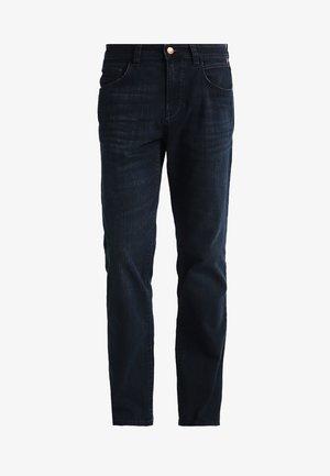 5 POCKET HOUSTON - Jeans straight leg - blue black