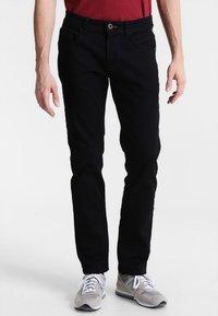 camel active - HOUSTON  - Jeans Straight Leg - black - 0