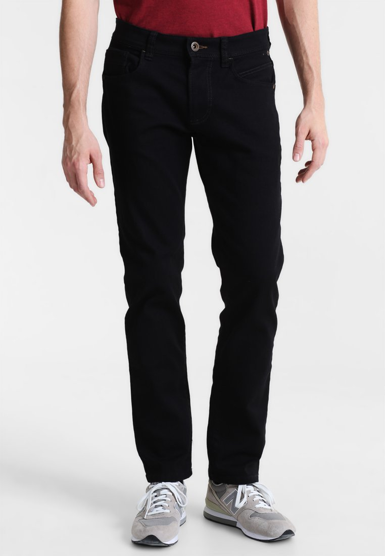 camel active - HOUSTON  - Jeans Straight Leg - black