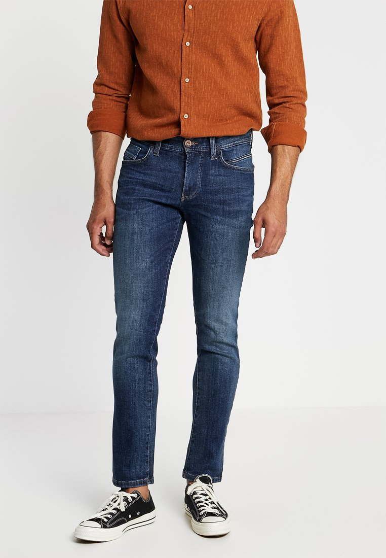 camel active - HOUSTON - Jeans Straight Leg - dark blue denim