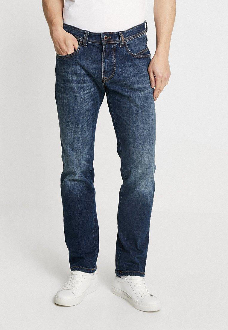 camel active - Jeans Straight Leg - dark blue denim