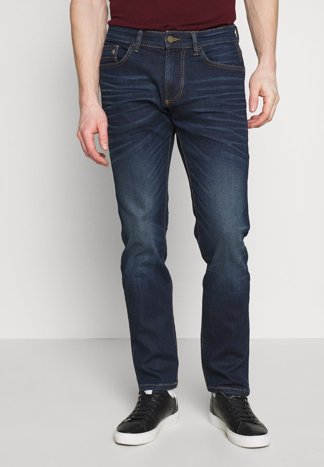 Slim fit jeans - darkblue denim