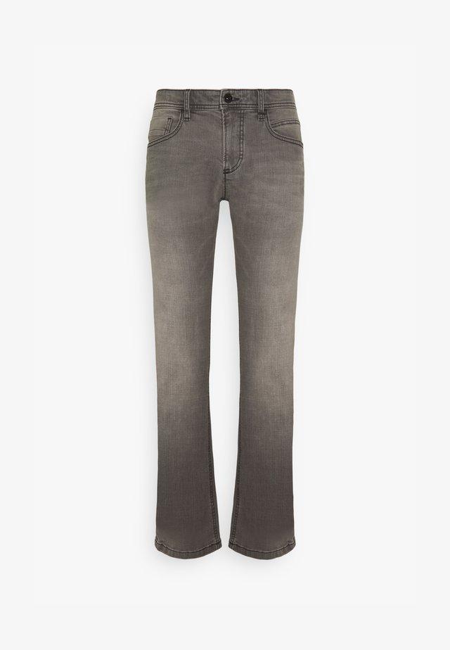 REGULAR - Jeans straight leg - grey denim