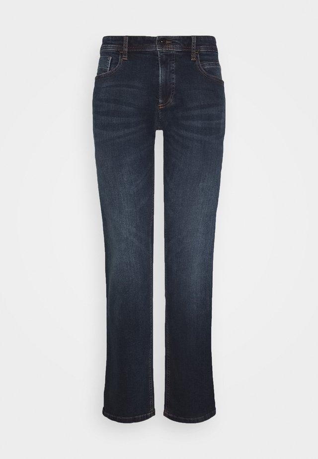 REGULAR - Jeans Straight Leg - blue od black