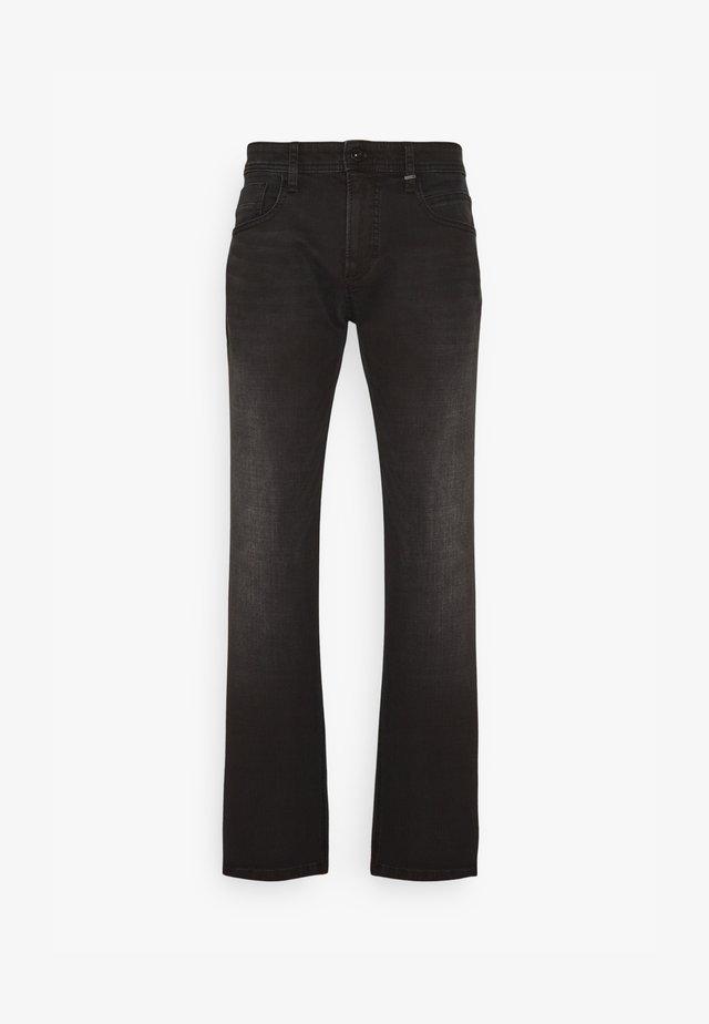 REGULAR - Jeans straight leg - black