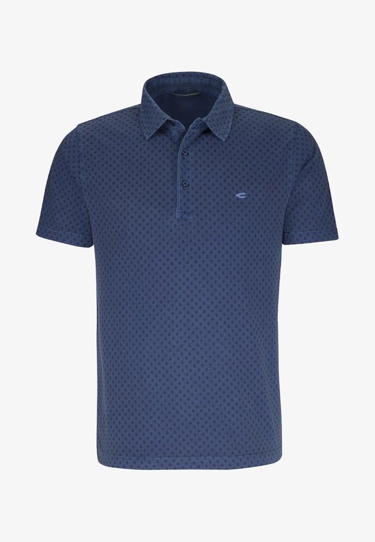 camel active - Poloshirt - medium blue