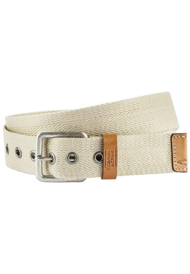 Belt - light beige