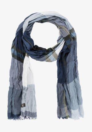 MIT KARO-MUSTER - Scarf - aqua blue