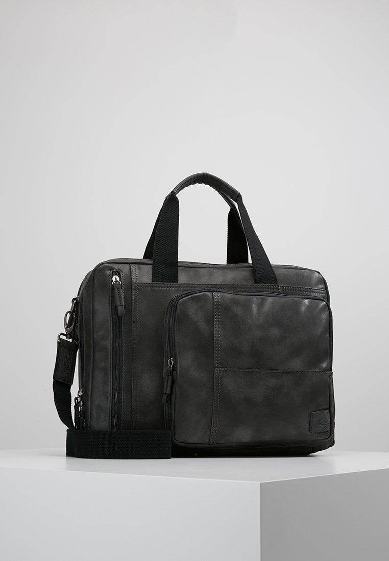 camel active - BUSINESS BAG LAOS - Briefcase - black