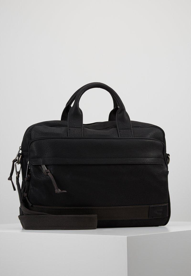 camel active - BUSINESS BAG KINGSTON - Aktówka - black