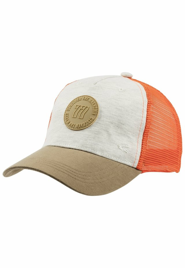 MIT BADGE - Cap - beige