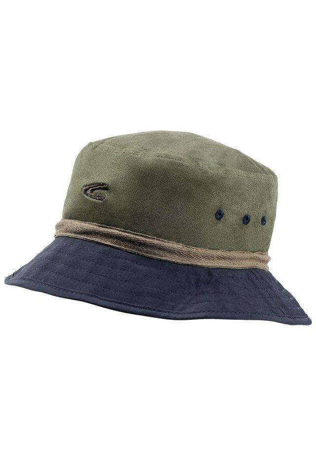 MIT KORDELZUG - Hat - khaki-blue
