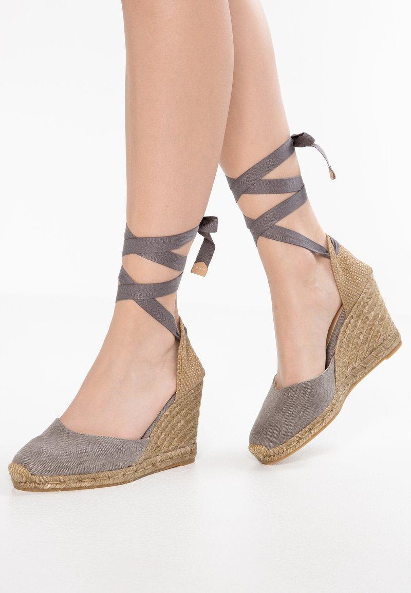 Castañer - CARINA - High heels - plomo