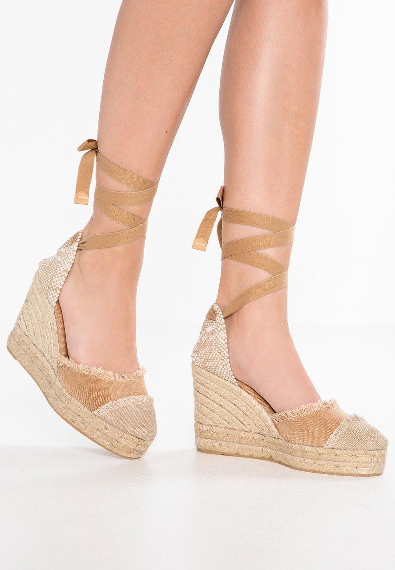 Castañer - CATALINA - High heels - tostado