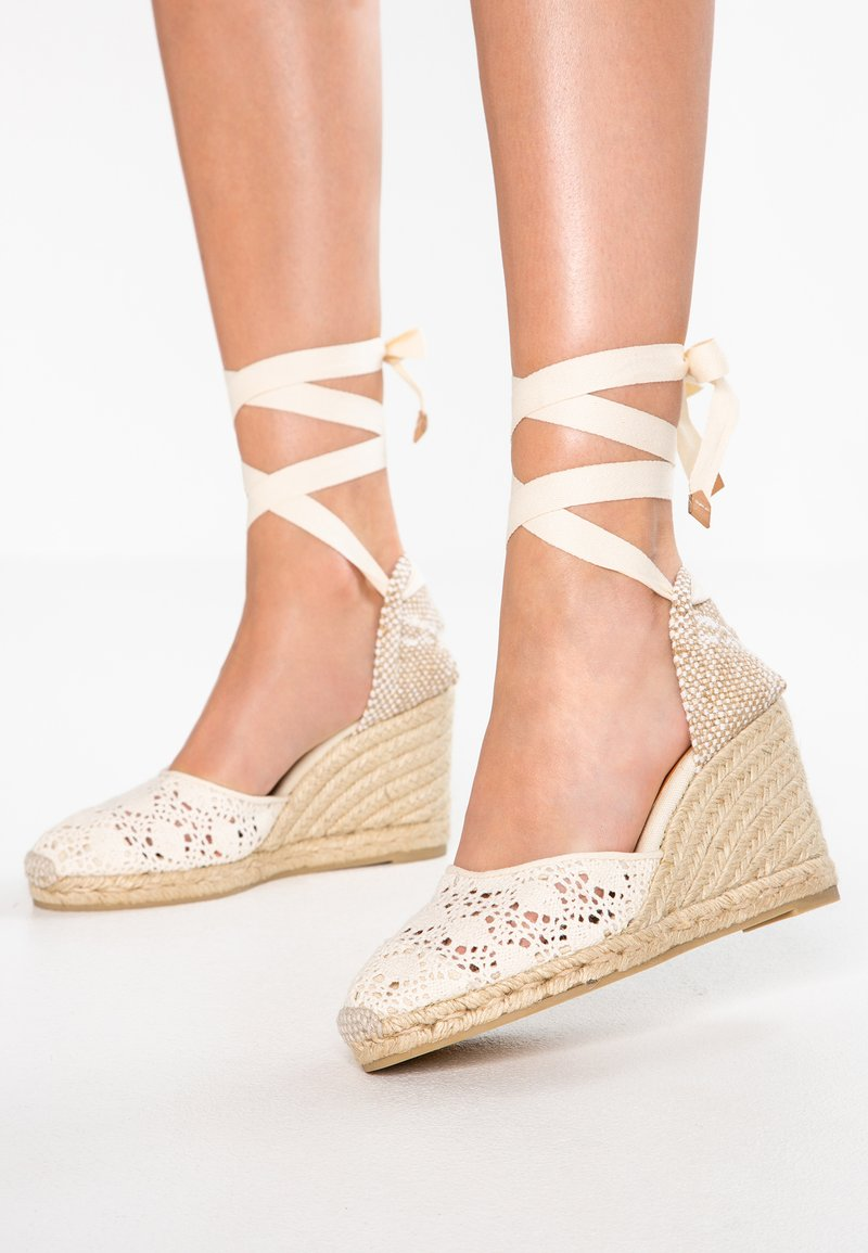 Castañer - CARINA - High heeled sandals - crudo