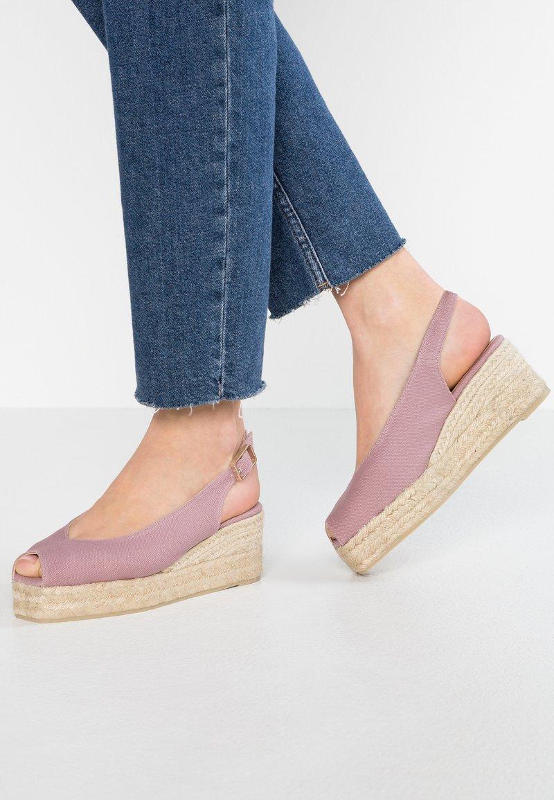 Castañer - DOSALIA - Platform sandals - malva