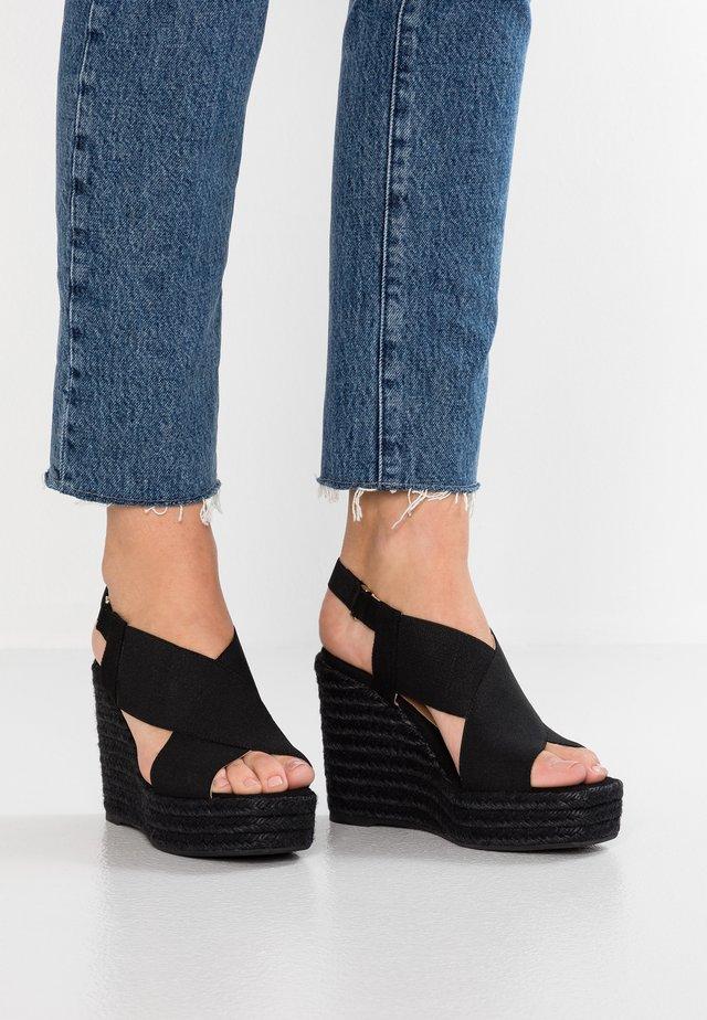 FEDERICA  - Sandalen met hoge hak - black