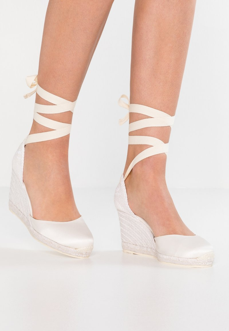 Castañer - CARINA - High heeled sandals - white