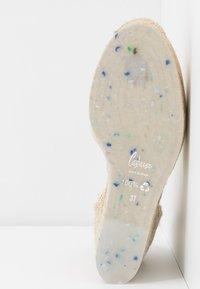 Castañer - CARINA  - Sandaler med høye hæler - natural - 6