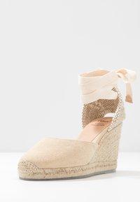 Castañer - CARINA  - Sandaler med høye hæler - natural - 4