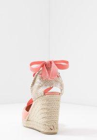 Castañer - CUCU  - Sandály na vysokém podpatku - albaricoque - 5
