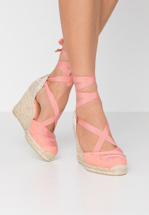 CUCU  - Sandaler med høye hæler - albaricoque