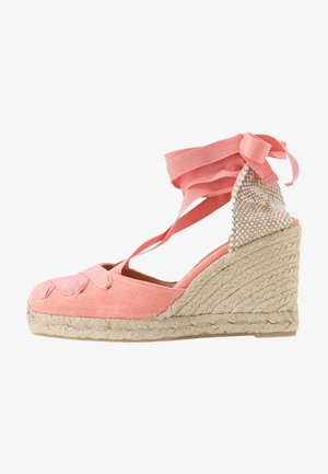 CUCU  - High heeled sandals - albaricoque