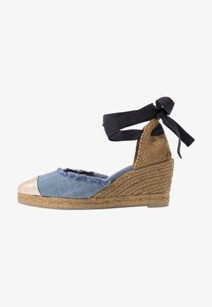 JANIT  - Espadrilles - jeans/claro
