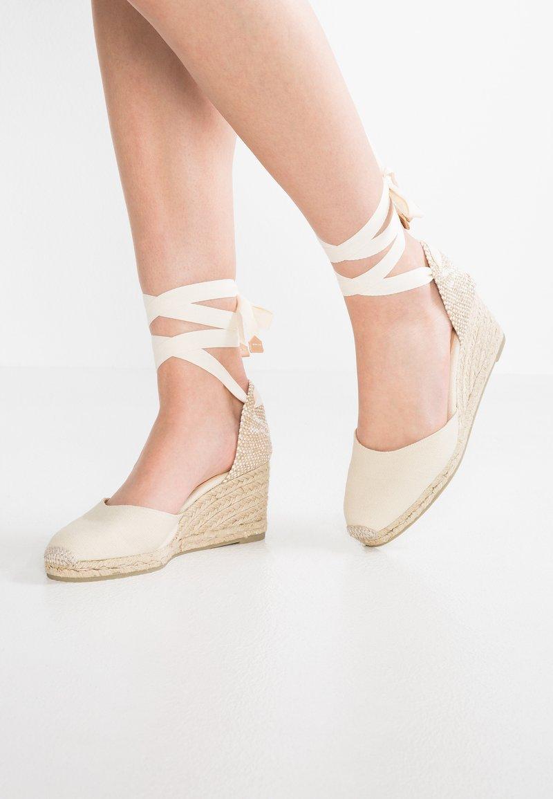 Castañer - CARINA - Zapatos de salón con cordones - ivory