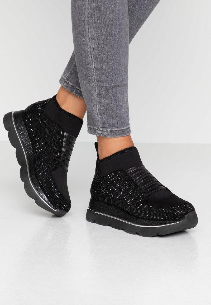 CAFèNOIR - Höga sneakers - nero