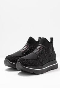 CAFèNOIR - Höga sneakers - nero - 4