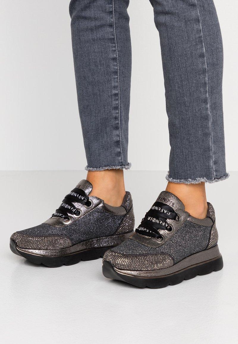 CAFèNOIR - Sneakers laag - piombo