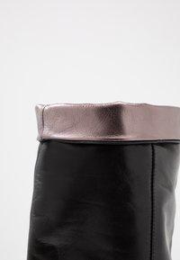 CAFèNOIR - Botas de tacón - nero - 7
