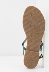 CAFèNOIR - T-bar sandals - turchese - 6