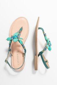 CAFèNOIR - T-bar sandals - turchese - 3