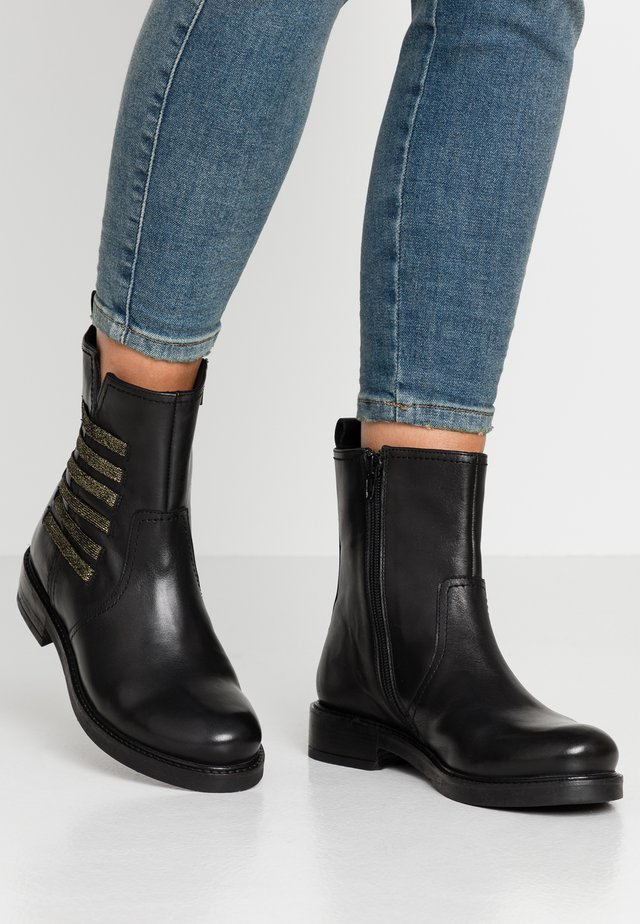 Bottines - nero/oro