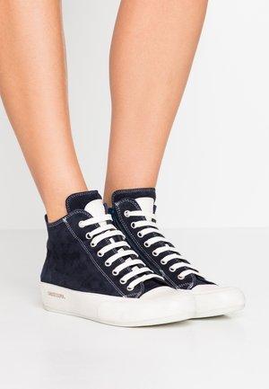 PLUS  - Sneakers high - navy/panna