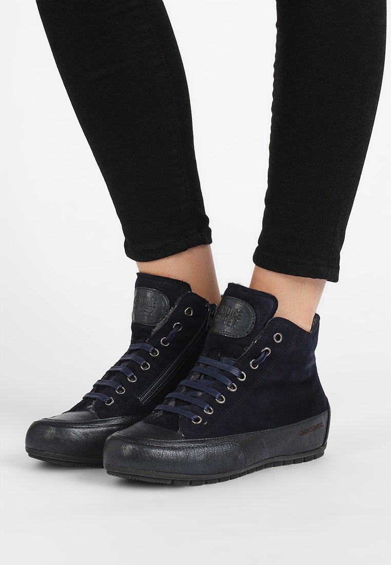 Candice Cooper - PLUS - High-top trainers - navy/base palmares blu