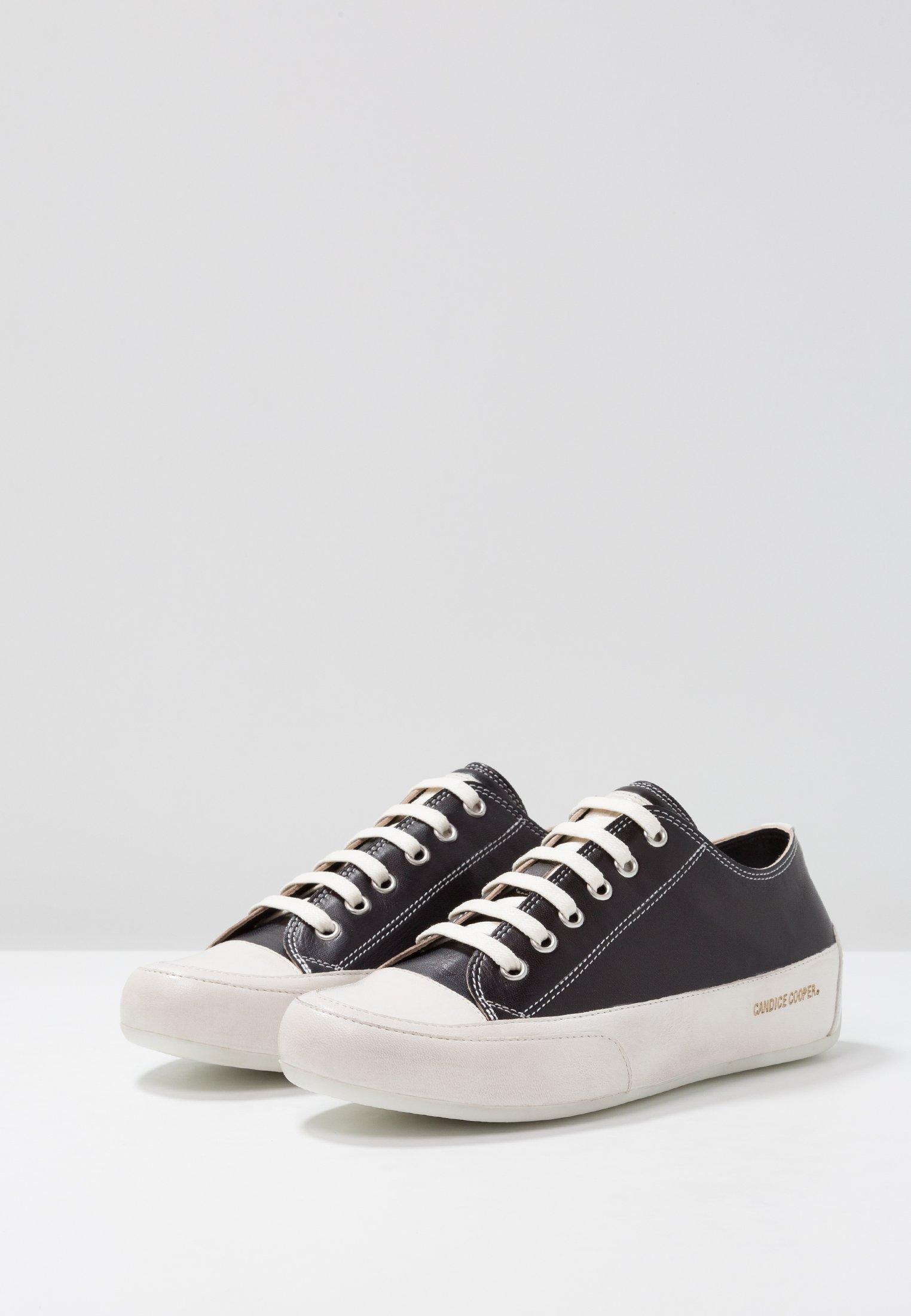 Candice Cooper Rock - Sneakers Laag Tamponato Nero/base Panna Goedkope Schoenen