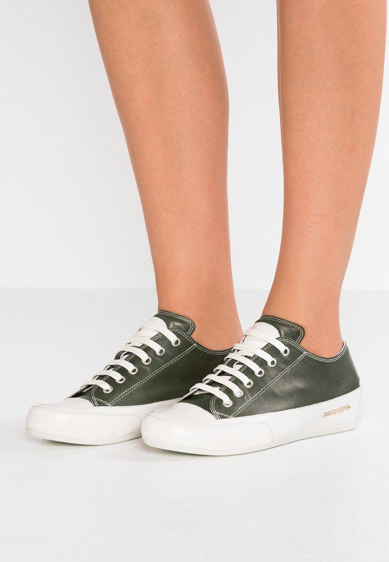 Candice Cooper - ROCK - Sneakers laag - khaki/panna