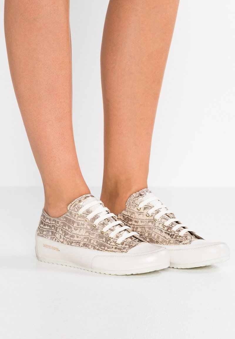Candice Cooper - ROCK  - Sneakers - dundee taupe grey/ base tamp panna