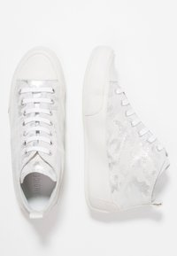 Candice Cooper - MID - Sneakers high - argento/base bianco - 3
