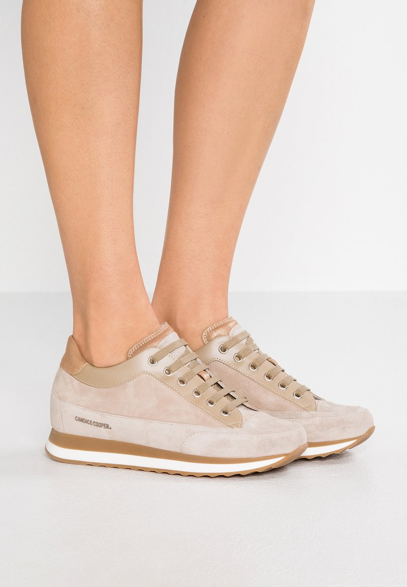 Candice Cooper - ROCK SPORT - Sneakers - sabbia/pioppino