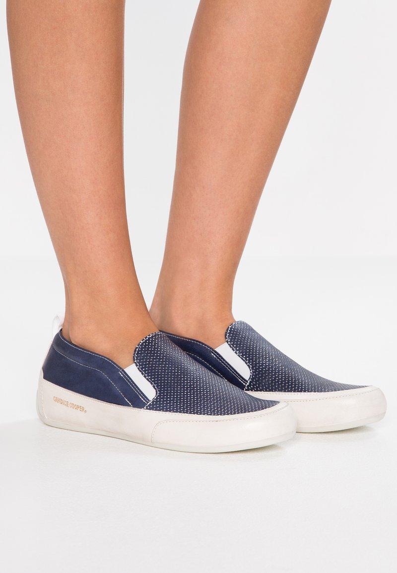 Candice Cooper - MIAMI - Scarpe senza lacci - navy/panna