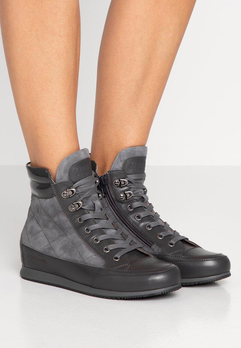 Candice Cooper - TORONTO - Sneakers hoog - vintage asfalto/piombo