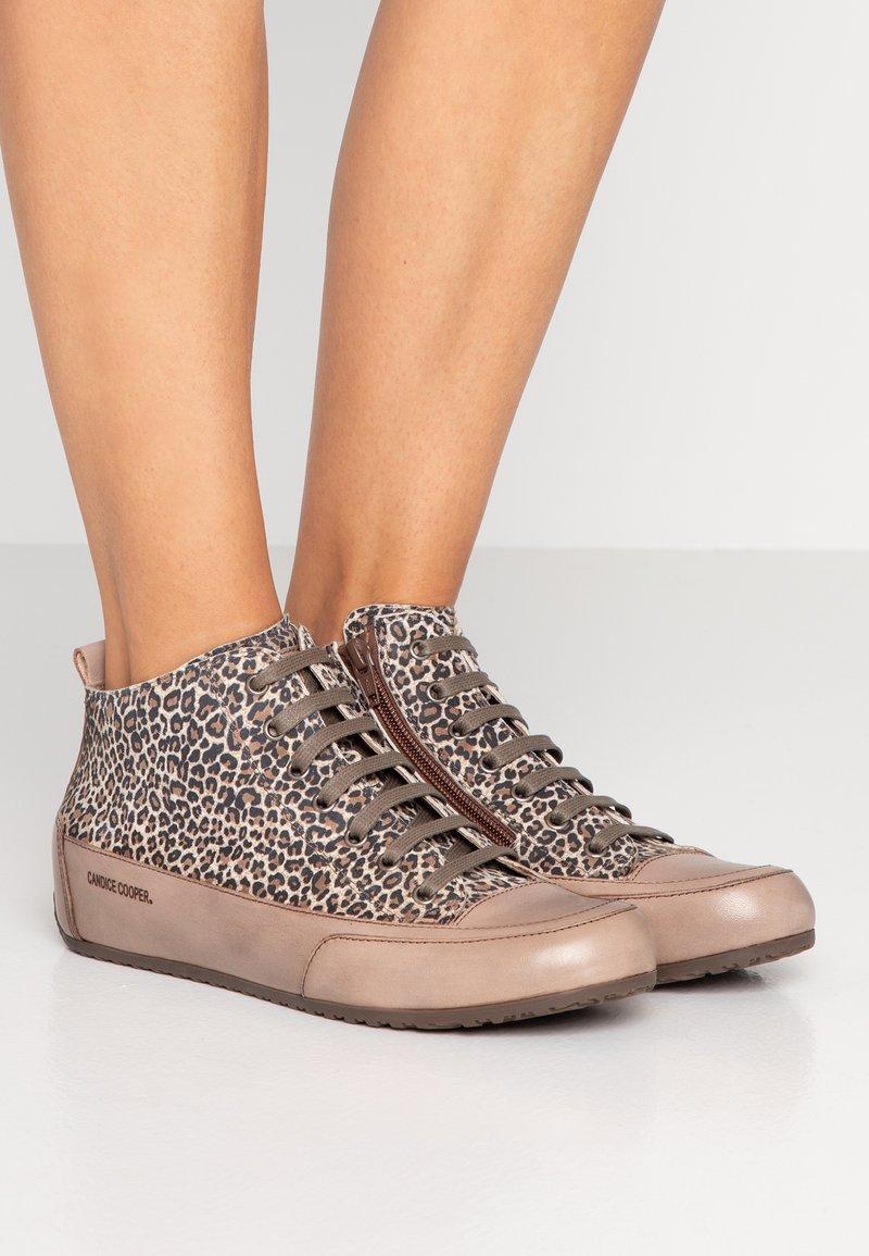 Candice Cooper - MID - Sneakers high - tamponato stone