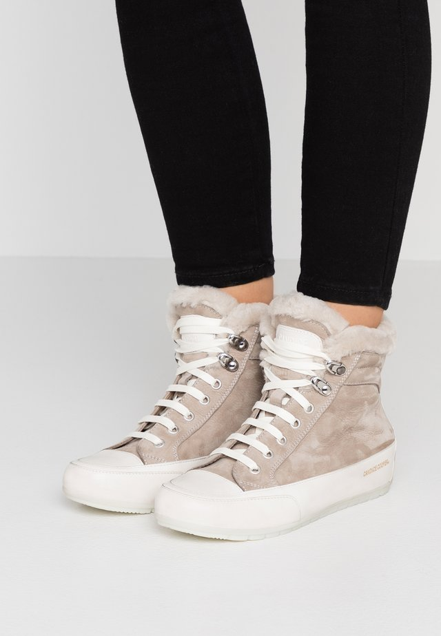 VANCOUVER - Ankle Boot - taupe/tamponato panna