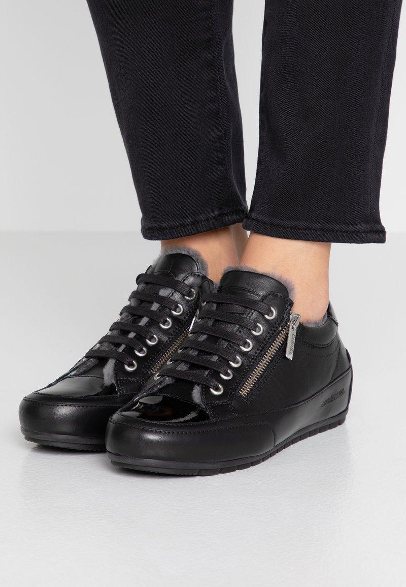 Candice Cooper - ROCK DELUXE ZIP - Sneakers laag - nero