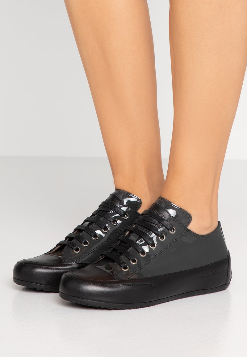 Candice Cooper - ROCK - Sneaker low - glossy antra