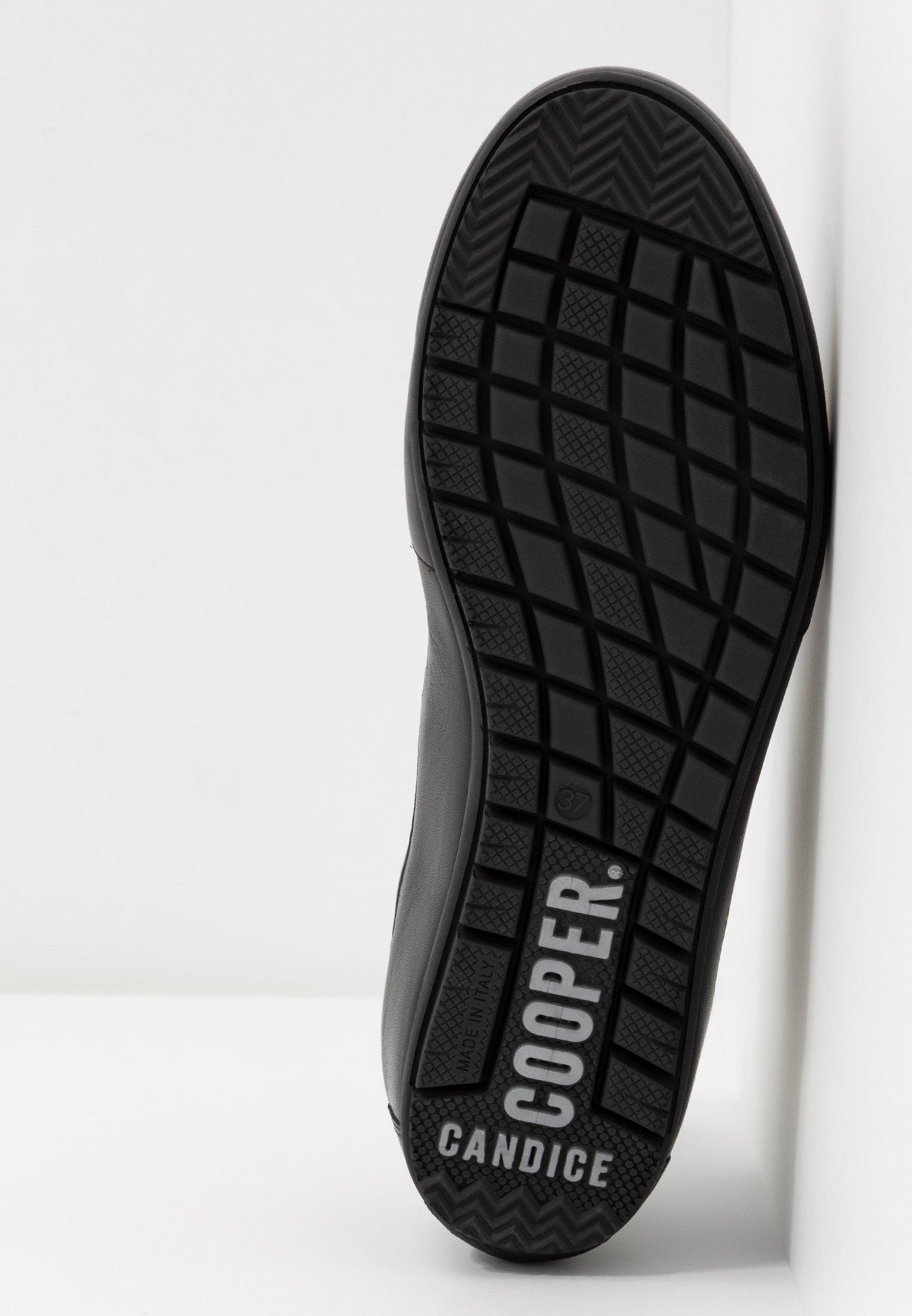 Candice Cooper ROCK - Baskets basses ninja antracite/nero